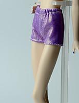 Недорогие -Брюки Шорты, брюки и колготки Для Кукла Барби Лиловый Брюки Для Девичий игрушки куклы