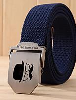 cheap -Unisex Casual Fabric Waist Belt Stylish