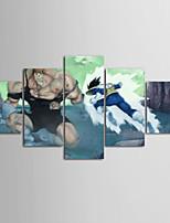 preiswerte -Leinwand-Set Modern,Fünf Panele Horizontal Druck Wand Dekoration Haus Dekoration