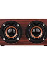 cheap -W55 Bluetooth Speaker Mini Style Bluetooth Loud Speaker Micro USB Brown