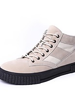 cheap -Men's Shoes Rubber Spring Fall Comfort Sneakers for Outdoor Black Beige Gray