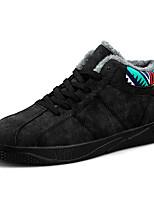 economico -Per uomo Scarpe Cashmere Inverno Comoda Sneakers Stampa animal per Casual Nero Grigio Rosso