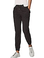 cheap -Women's Running Pants Breathability Pants / Trousers Running/Jogging Cotton Polyester Spandex Dark Grey Black L M S