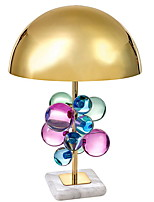 cheap -Crystal Artistic Crystal Table Lamp Desk Lamp For Bedroom Metal 220V A B