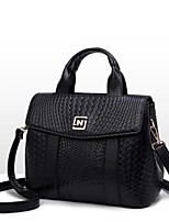 cheap -Women Bags PU Tote Pockets for Casual Winter Blushing Pink Black Blue