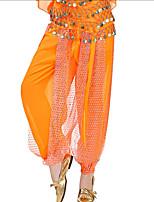 cheap -Belly Dance Bottoms Women's Performance Chiffon Paillette Dropped Pants