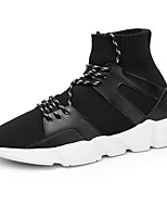 cheap -Shoes Knit Spring Summer Comfort Sneakers for Casual Outdoor Black