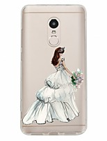 cheap -Case For Xiaomi Redmi Note 4X Redmi Note 4 Pattern Back Cover Sexy Lady Soft TPU for Xiaomi Redmi Note 4X Xiaomi Redmi Note 4