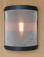 Недорогие -Защите для глаз Винтаж Назначение Столовая Металл настенный светильник 220 Вольт 40W