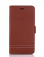 cheap -Case For Huawei Honor 9 Honor 8 Card Holder Wallet with Stand Flip Full Body Solid Color Hard PU Leather for Honor 9 Honor 8 Honor 7X