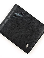 cheap -Men Bags Cowhide Wallet Pockets for Shopping Casual All Seasons Black