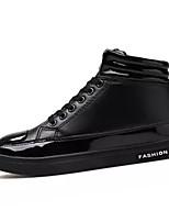 Недорогие -обувь Искусственное волокно Весна Осень Удобная обувь Кеды для Повседневные Черный Серебряный Красный