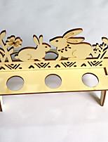 abordables -Occasion spéciale En bois Décorations de Mariage Thème jardin Printemps/Automne