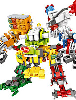 cheap -Building Blocks Toys People Hand-made Super Heroes Warrior ABS Boys' Girls' Pieces