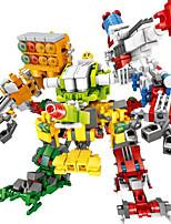 Недорогие -Конструкторы Игрушки Люди Ручная работа Супер-герои Воин Мальчики Девочки Куски