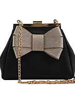 cheap -Women Bags PU Polyester Shoulder Bag Bow(s) for Casual All Season Light Green Beige Red Black