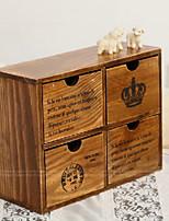 Недорогие -двустворчатый деревянный дом для ежедневного хранения шкафчик с четырьмя ящиками сделал старые двухэтажные шкафчики