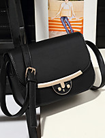 cheap -Women Bags PU Shoulder Bag Buttons for Casual All Season Royal Blue Gray Orange Black