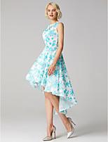 preiswerte -Ballkleid Schmuck Asymmetrisch Spitze Cocktailparty Abiball Kleid mit durch TS Couture®