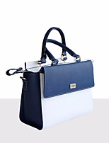 cheap -Women Bags Cowhide Shoulder Bag Buttons for Casual All Season Brown Black Blue