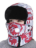 cheap -Ski Hat Ski Skull Cap Beanie Pollution Protection Mask Unisex Warm Snowboard Cotton Camouflage Running/Jogging Hiking Cycling / Bike Snow