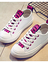 cheap -Girls' Shoes Cowhide Spring Fall Comfort Sneakers for Casual Fuchsia Gray Gold