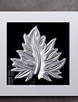 Недорогие -Абстракция Масляные картины Предметы искусства,Дерево материал с рамкой For Украшение дома Предметы искусства в рамках В помещении
