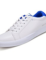 cheap -Men's Shoes PU Spring Fall Comfort Sneakers for Casual White/Green White/Blue Black White