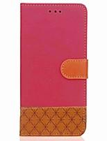 abordables -Coque Pour Samsung Galaxy Note 8 Note 5 Portefeuille Porte Carte Avec Support Clapet Magnétique Coque Intégrale Formes Géométriques Dur