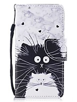 cheap -Case For Samsung Galaxy S8 Plus S8 Card Holder Wallet with Stand Flip Magnetic Pattern Full Body Cat Hard PU Leather for S8 Plus S8 S7