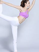 cheap -Women's Running Tights Breathability Tights Yoga Running/Jogging Walking Polyester Slim Black White XL L M S