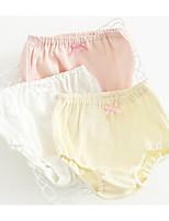 cheap -Girls' Solid All Seasons Underwear, Cotton Micro-elastic Blushing Pink