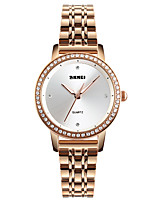 cheap -SKMEI Women's Unique Creative Watch Wrist watch Fashion Watch Japanese Quartz Water Resistant / Water Proof Imitation Diamond Casual Watch