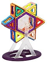 preiswerte -Magnetische Bauklötze Spielzeuge Transformierbar Weicher Kunststoff 72 Stücke