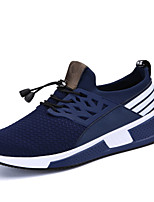 cheap -Men's Shoes Knit Spring Summer Comfort Sneakers for Casual Outdoor Blue Red Black