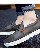 cheap -Men's Shoes Synthetic Microfiber PU Spring Fall Comfort Sneakers for Casual Gray Orange Black