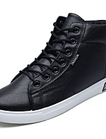 cheap -Men's Shoes PU Spring Fall Comfort Sneakers for Athletic Blue Black