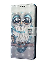 cheap -Case For OnePlus OnePlus 5T 5 Card Holder Wallet with Stand Flip Magnetic Pattern Full Body Cases Owl Hard PU Leather for One Plus 5