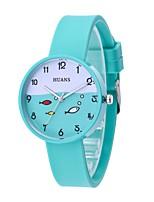 Недорогие -Жен. Детские Повседневные часы Модные часы Наручные часы Китайский Кварцевый Повседневные часы силиконовый Группа На каждый день