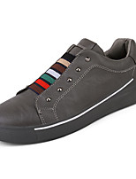 cheap -Men's Shoes PU Leather Spring Fall Light Soles Sneakers Rivet for Casual White Black Gray