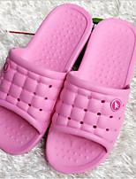 Недорогие -Жен. Обувь Этиленвинилацетат Весна Лето Удобная обувь Тапочки и Шлепанцы Плоские для Повседневные Темно-синий Желтый Розовый Светло-синий