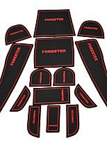 abordables -Automobile Matrice de tableau de bord Groove Mat Tapis étanche Tapis Intérieur de Voiture Pour Subaru 2009 2010 2011 2012 Forester