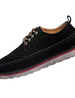 cheap -Men's Shoes Synthetic Microfiber PU Spring Fall Comfort Sneakers for Casual Black Gray