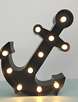 cheap -Novelty LED Night Light Anchor 3D Lamp For Children Home Decoration Table Lamp