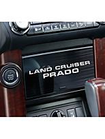Недорогие -автомобильный Центровые стековые обложки Всё для оформления интерьера авто Назначение Toyota Все года LAND CRUISER PRADO