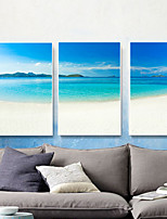 cheap -Landscape Oil Painting Wall Art,Metal Material With Frame For Home Decoration Frame Art Dining Room