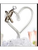 cheap -Cake Topper Fairytale Theme Romance Fashion Artistic/Retro ABS Resin Wedding Birthday with Rhinestone 1 Cardboard Box
