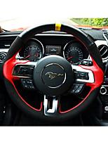 economico -Coprivolanti per auto (pelle) per ford 2015 2015 2017 mustang