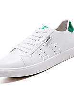 cheap -Men's Shoes PU Spring Fall Comfort Sneakers for Casual White Black/White White/Green