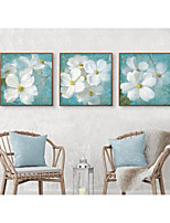 cheap -Floral/Botanical Wall Art,PS Material With Frame For Home Decoration Frame Art Living Room